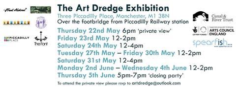 art dredge exhibition